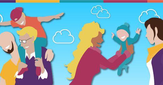 Casal homoafetivo: começando uma família [Infográfico]